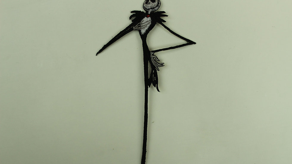 NIGHTMARE BEFORE CHRISTMAS SKINNY JACK PATCH