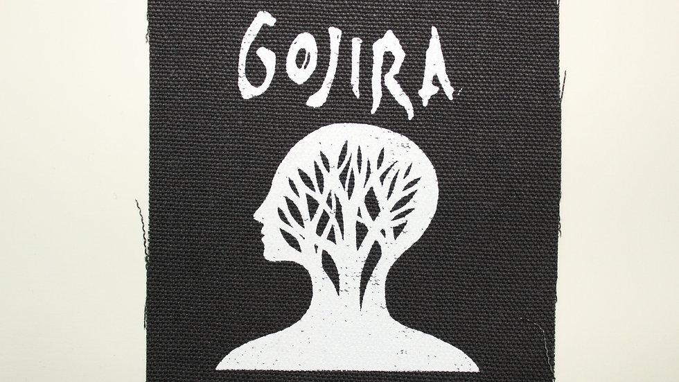 GOJIRA SCREENPRINTED PATCH