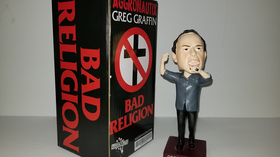 BAD RELIGION GREG GRAFFIN THROBBLEHEAD