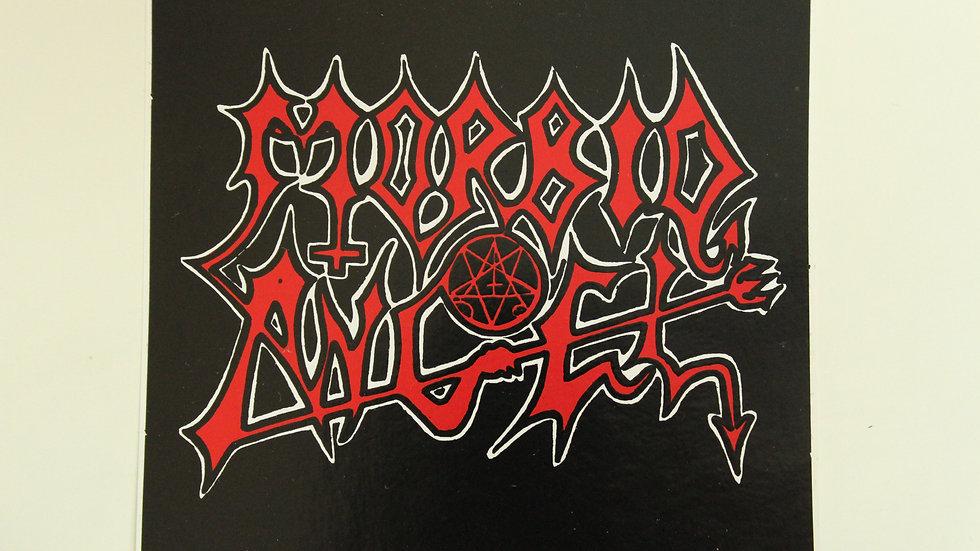 MORBID ANGLE LOGO STICKER
