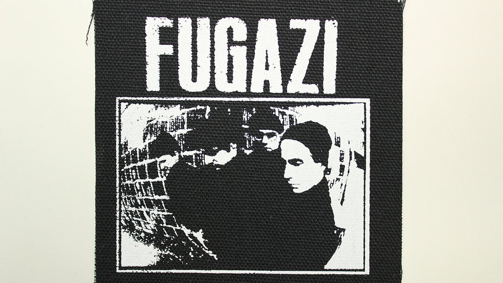 FUGAZI SCREENPRINTED PATCH