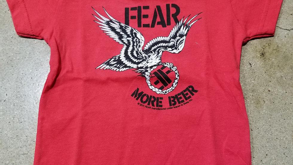 FEAR MORE BEER KIDS TEE