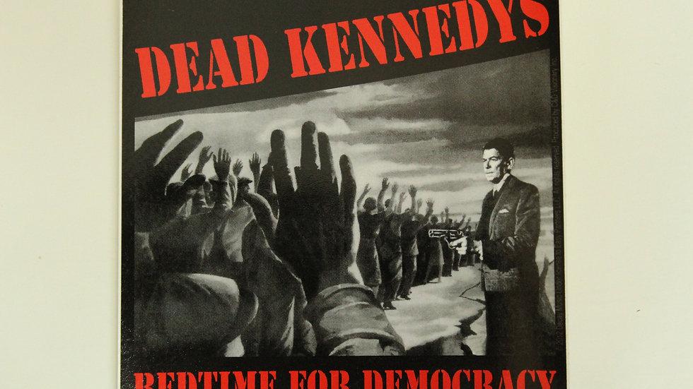 DEAD KENNEDYS BEADTIME FOR DEMOCRACY REGAN STICKER