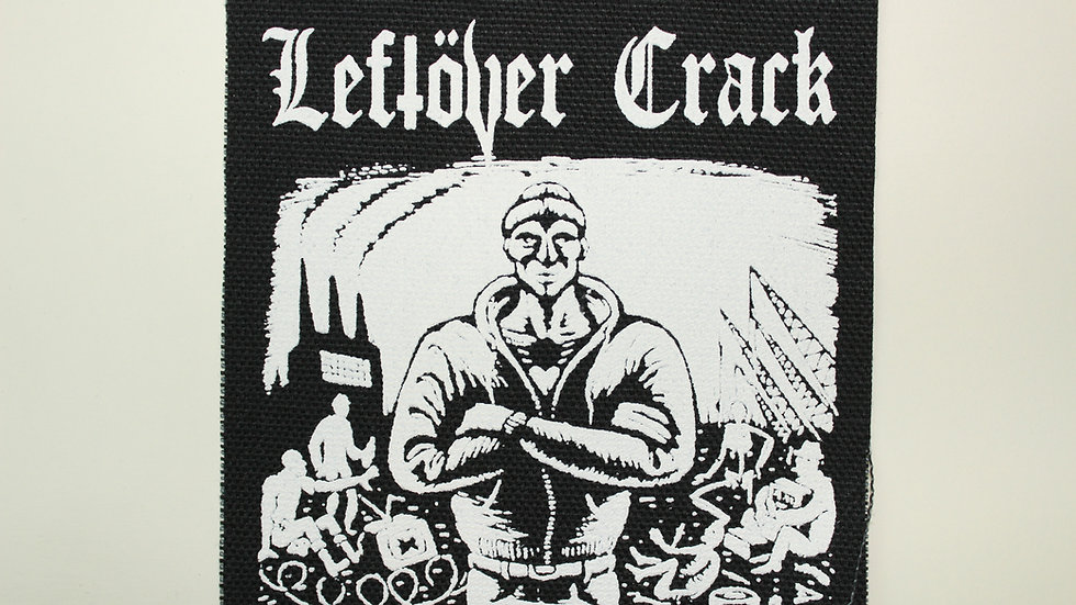 LEFTOVER CRACK SCREENPRINTED PATCH