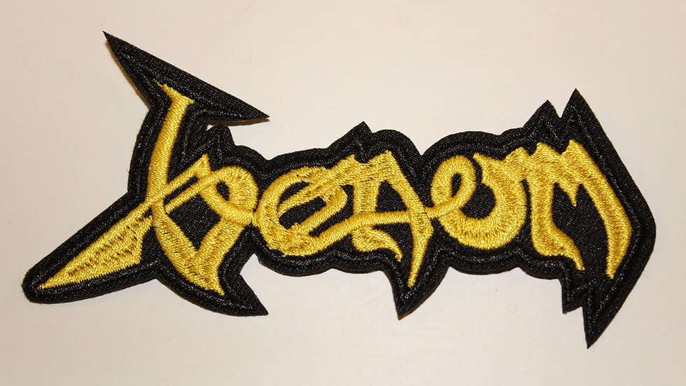 VENOM YELLOW LOGO PATCH
