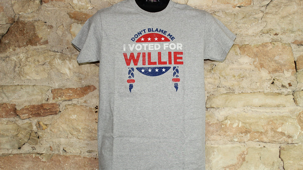WILLIE NELSON DON'T BLAME ME TEE