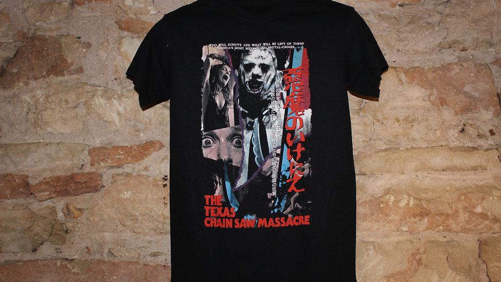 TEXAS CHAINSAW MASSACRE JAPANESE VHS TEE