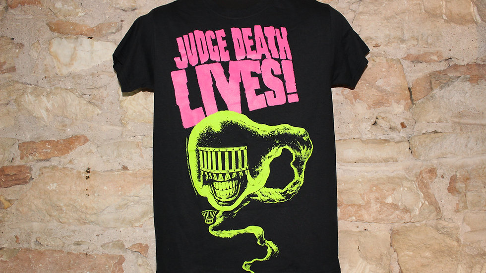 JUDGE DREAD JUDGE DEATH LIVES TEE