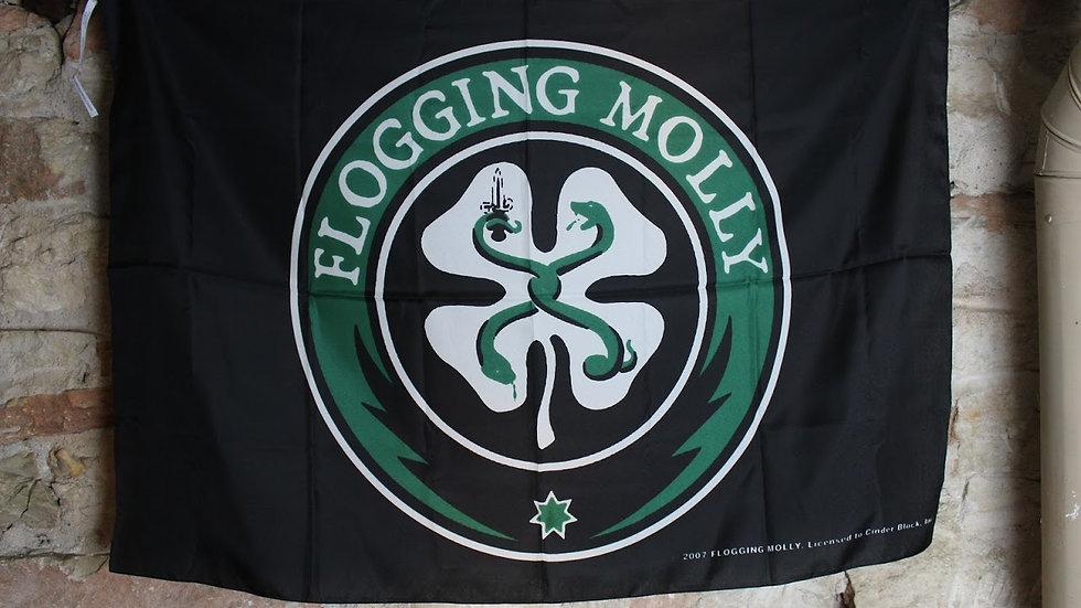 FLOGGING MOLLY FLAG