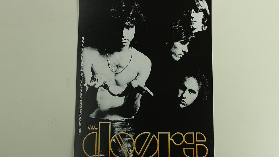 THE DOORS GROUP STICKER
