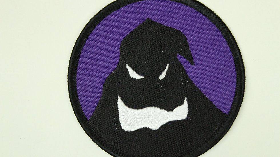 NIGHTMARE BEFORE CHRISTMAS OOGIE BOOGIE SHADOW PATCH