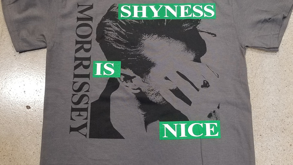 MORRISSEY SHYNESS IS NICE SHIRT