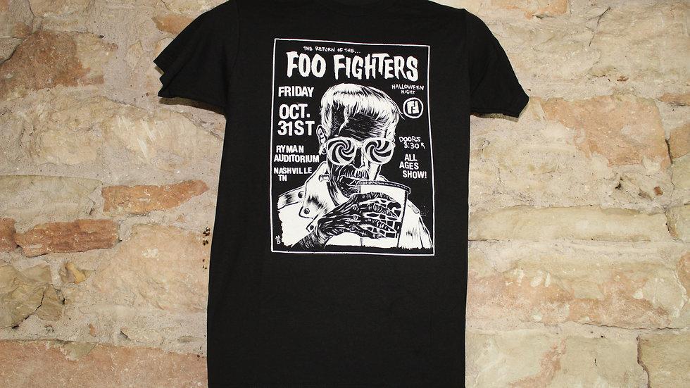 FOO FIGHTERS HALLOWEEN SHOW TEE