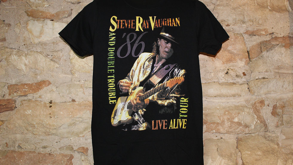 STEVIE RAY VAUGHAN LIVE ALIVE TEE