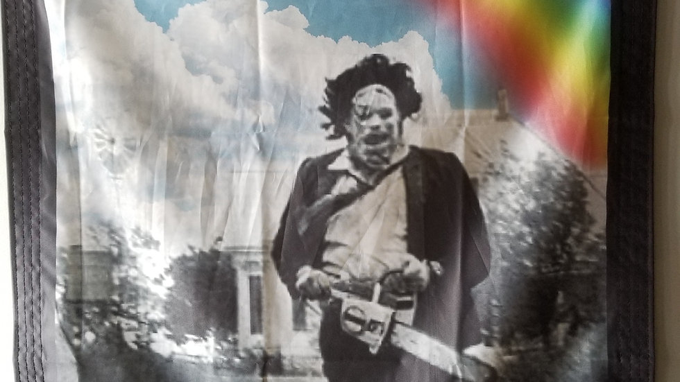 TEXAS CHAINSAW MASSACRE MURDER HAPPY TEXAS BANNER