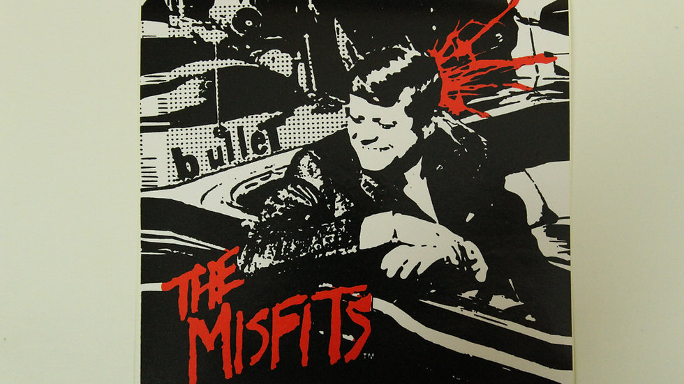 MISFITS TEXAS IS THE REASON STICKER