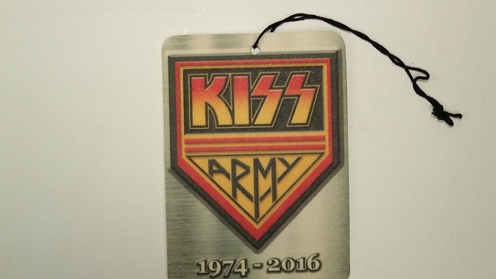 KISS ARMY AIR FRESHENER