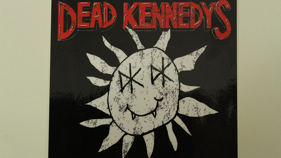 DEAD KENNEDYS DEAD SUN STICKER