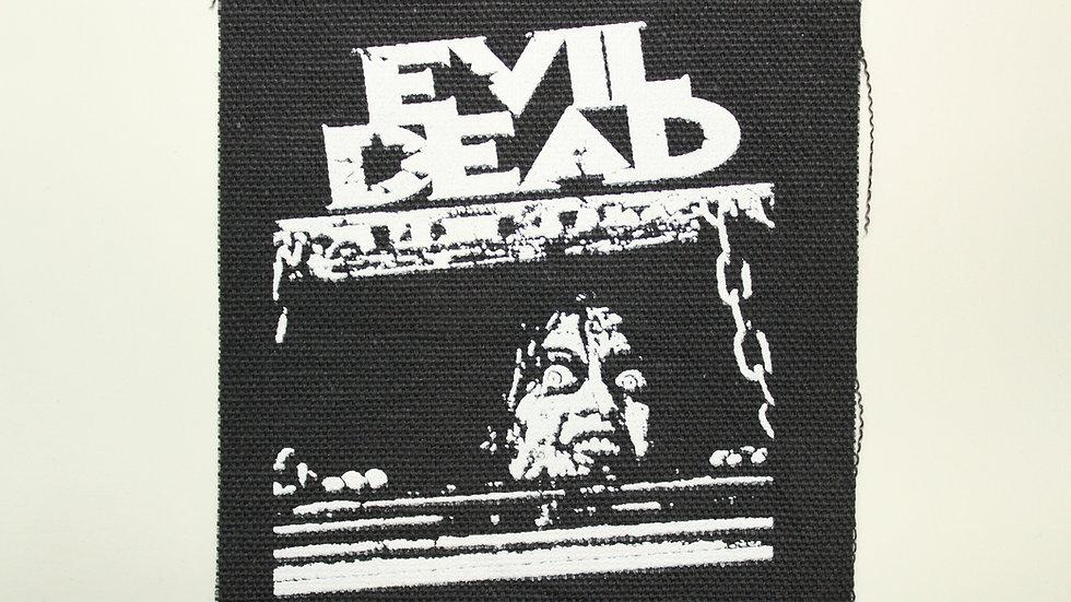 EVIL DEAD SCREENPRINTED PATCH