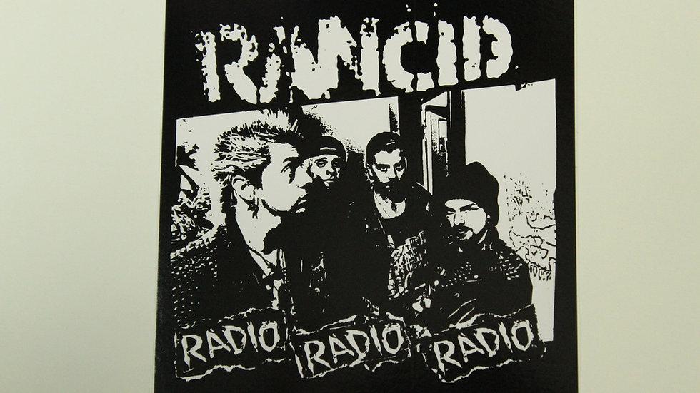 RANCID RADIO RADIO RADIO STICKER