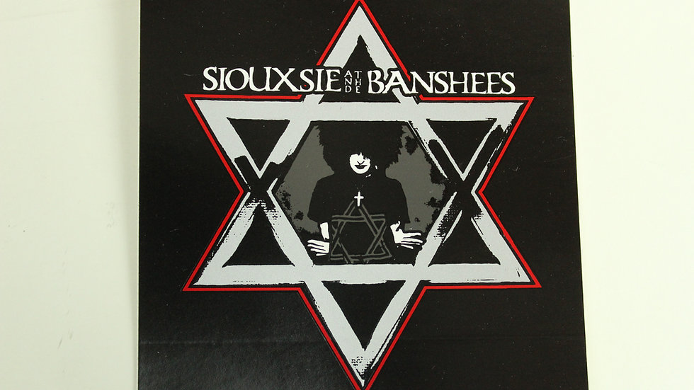 SIOUXSIE AND THE BANSHEES STAR STICKER