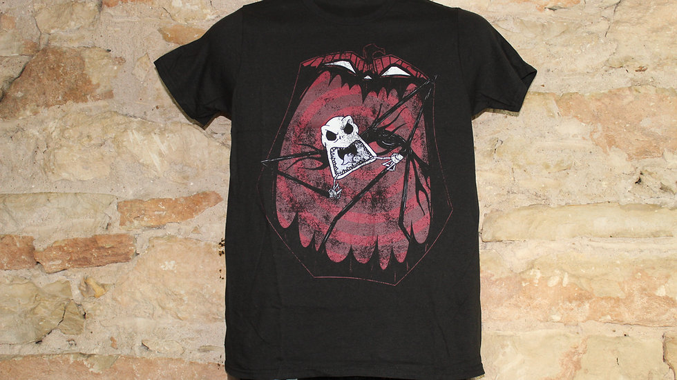 NIGHTMARE BEFORE CHRISTMAS IN THE MOUTH OF PUMPKIN TEE
