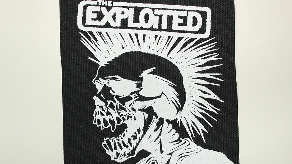 EXPLOITED SCREENPRINTED PATCH