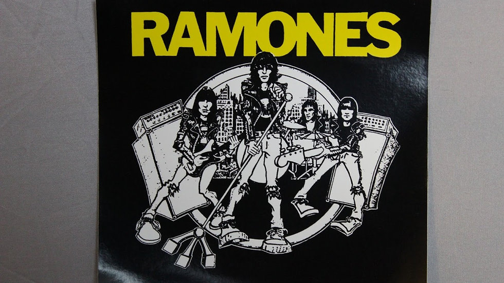 RAMONES ROAD TO RUIN STICKER