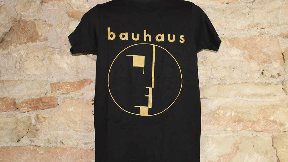BAUHAUS GOLD LOGO TEE