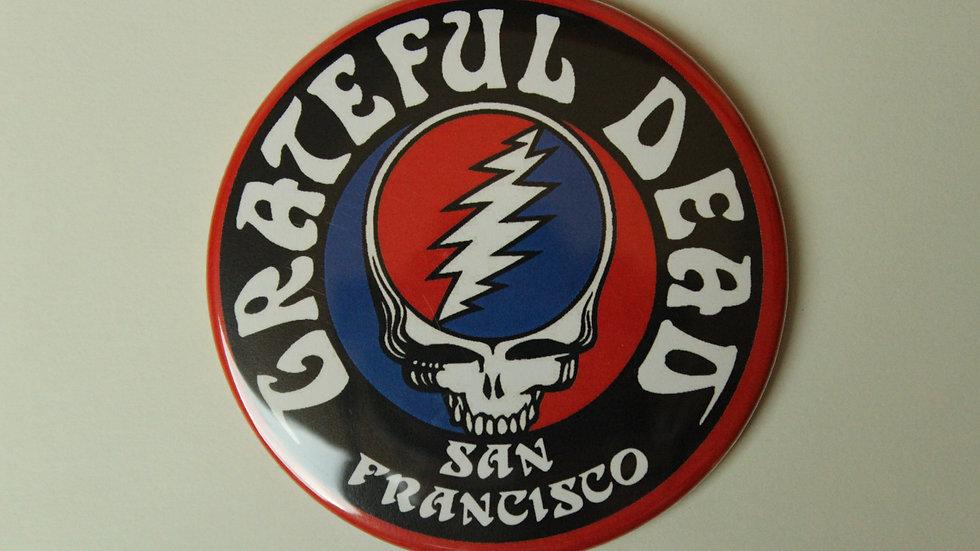 GRATEFUL DEAD SAN FRANCISCO MAGNET