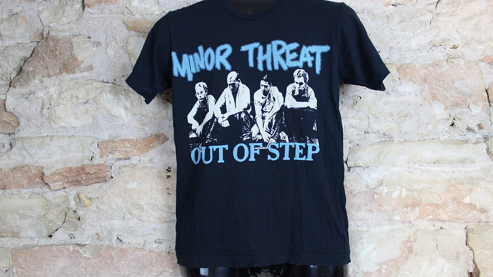 MINOR THREAT OUT OF STEP GROUP SHOT  TEE