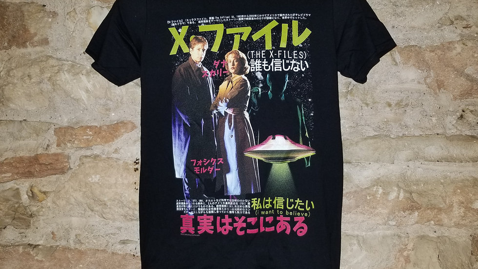 THE XFILES JAPANESE POSTER TEE