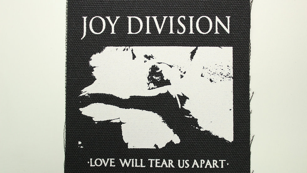 JOY DIVISION SCREENPRINTED PATCH