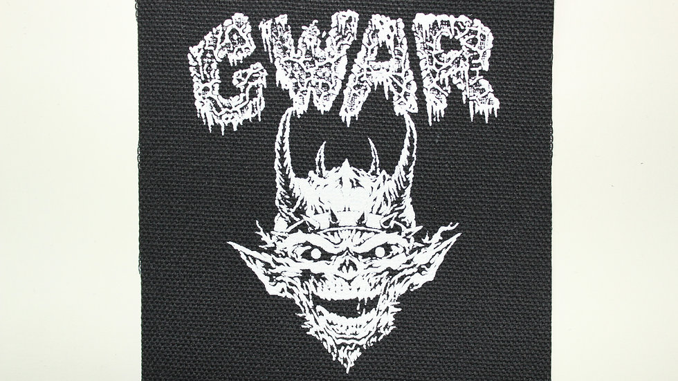 GWAR SCREENPRINTED PATCH