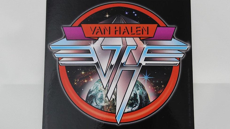 VAN HALEN SPACE LOGO STICKER
