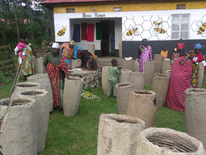 The Traditional Hives of the Jireh Women, Uganda