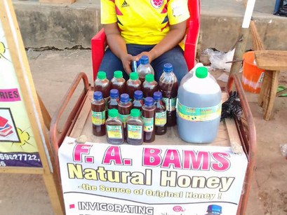 Meet Afuape - Honey Entrepreneur