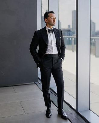 Custom tuxedo handmade by MICHEL'S BESPOKE