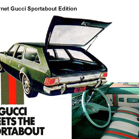 Gucci & the first fashion branded car
