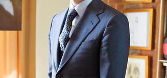 Custom suit, handmade in Toronto by MICHEL'S BESPOKE