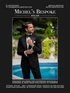 WEDLUXE Magazine featuring MICHEL'S BESPOKE
