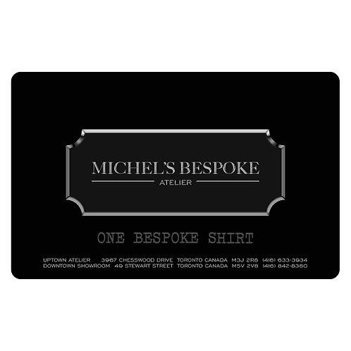 MICHEL'S BESPOKE GIFT CARD - ONE BESPOKE SHIRT