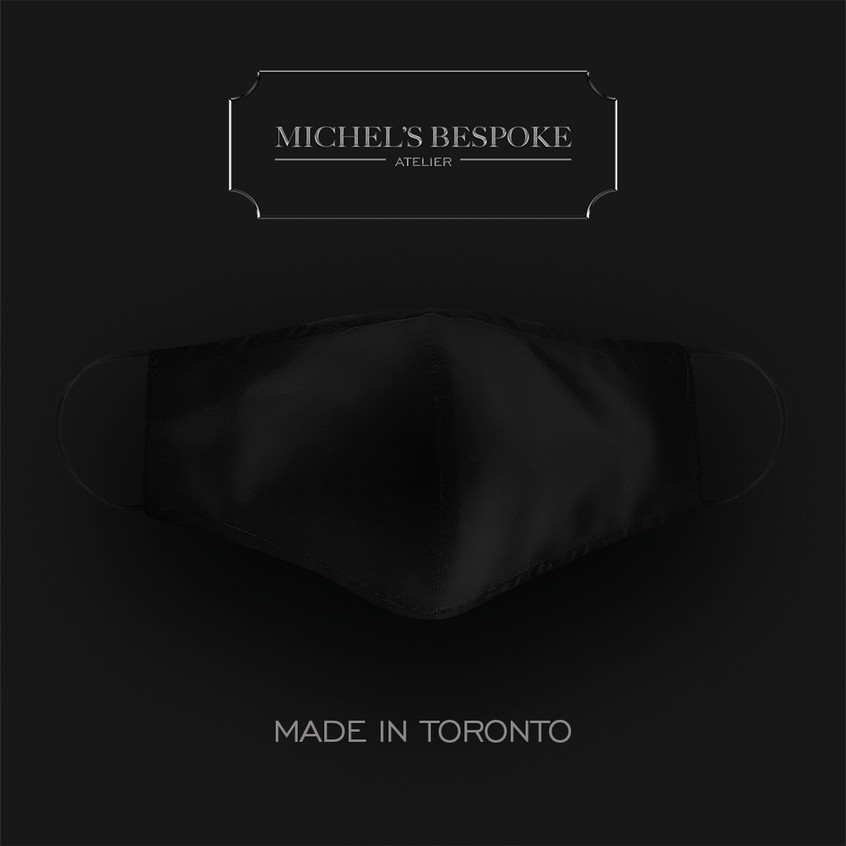 FACE MASK BY MICHEL'S BESPOKE MADE IN TORONTO