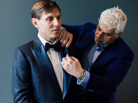 """SAYING """"I DO"""" WITH MICHEL'S BESPOKE"""