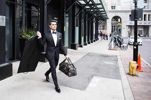 Michel's Bespoke Wedding Suits