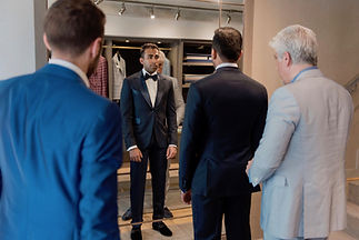 Weddings Michel's Bespoke Suit