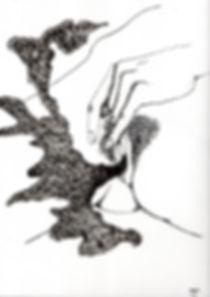 encre sur papier, 24x32 cm, 2015