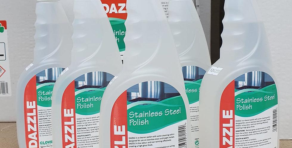 Dazzle S'Steel Polish 750ml