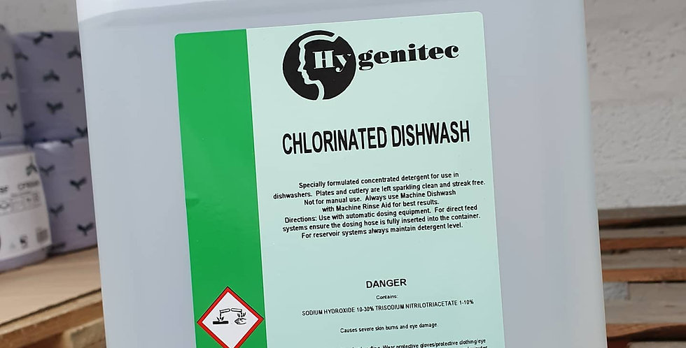 Chlorinated Dishwash 5ltr