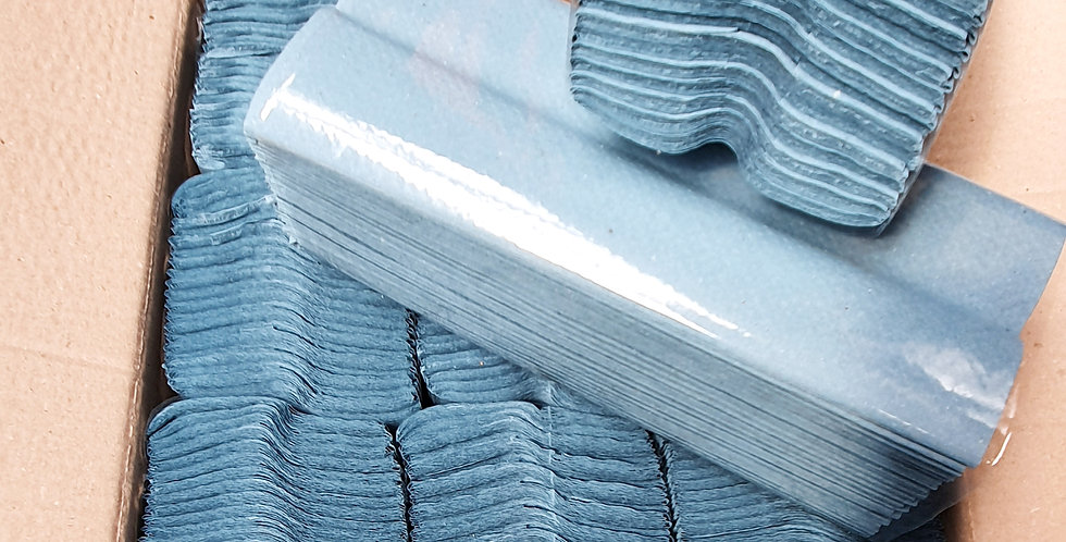 Economy Blue C'Fold Towels